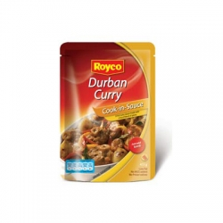 Royco wet cook in sauces Durban curry