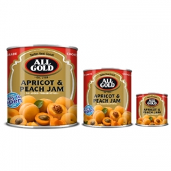 All Gold Apricot and Peach Jam