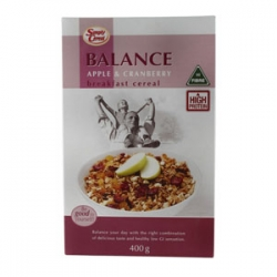 Simply Cereal Balance Apple & Cranberry Museli Box