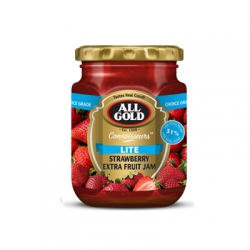 All Gold Lite Strawberry Extra Fruit Jam