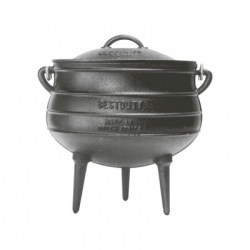 7302 3-legged Potjie Oil Cured