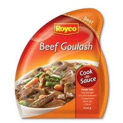 Royco cook in sauces Beef goulash