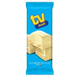 Beacon TV Bar White Chocolate Slab