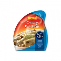 Royco cook in sauces Creamy Fish Bake