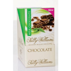 Sally Williams Mint Milk Chocolate Slab