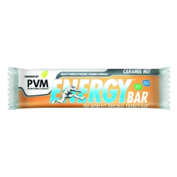 PVM Energy Bar Caramel Nut
