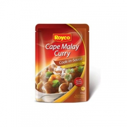 Royco wet cook in sauces Cape Malay curry