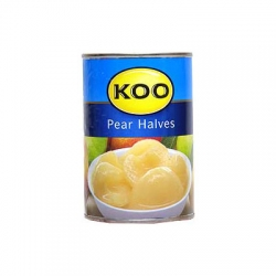 Koo Canned Fruit Pear Halves