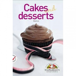 Ina P/Man Cook Book Cakes and Desserts