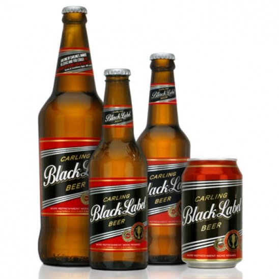 Black Label - 340ml Bottles