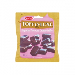 Wilsons - Toff O Luxe Liquorice Flavoured Creamy Toffee