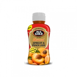 All Gold Skweezi Apricot and Peach Jam