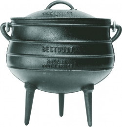 7042 3-legged Potjie Oil Cured