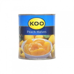 Koo Canned Fruit Peach Halves