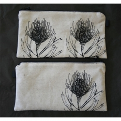 Hand printed Protea tableware & gifts