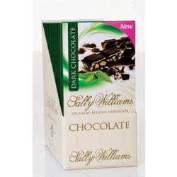 Sally Williams Mint Dark Chocolate Slab