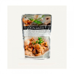 Woolworths cook in sauce Mushroom & White Wine