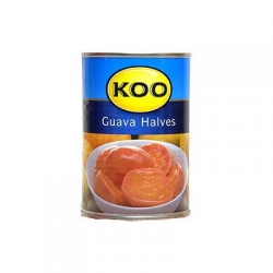 Koo Canned Fruit Guava Halves