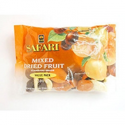 Safari Mixed Dried Fruit Std