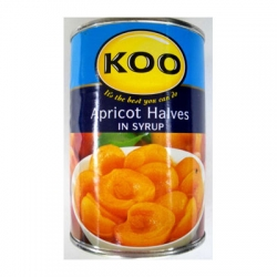 Koo Canned Fruit Apricot Halves