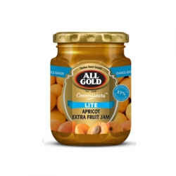 All Gold Lite Apricot Extra Fruit Jam