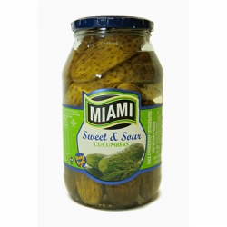 Miami Sweet & Sour Cucumbers